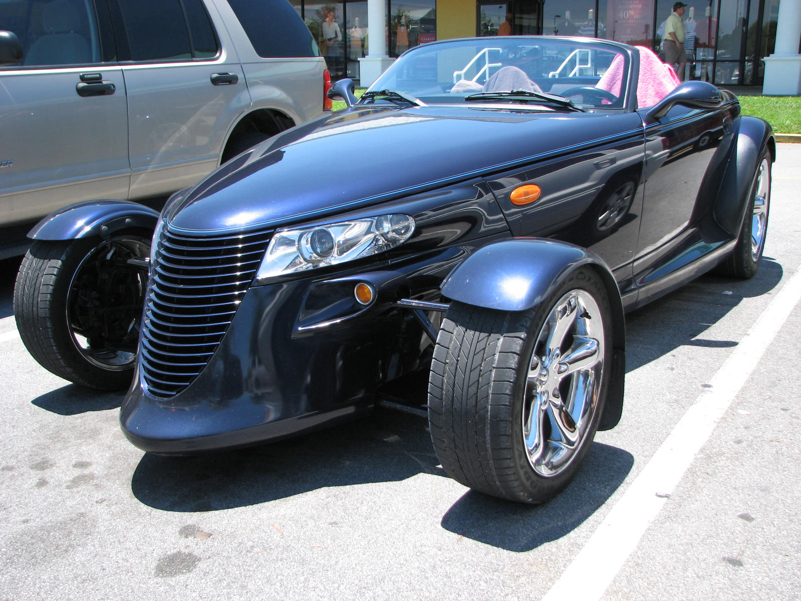 Plymouth Prowler by ~JaxInc on