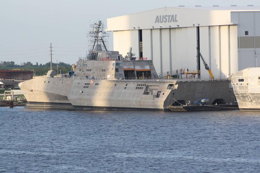 USS Coronado (LCS-4) by JaxInc