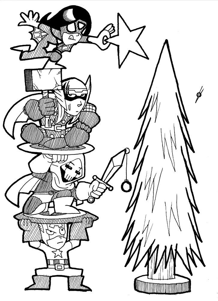 FELIZ NAVIDAD 2012 Chibi_avengers_xmas_tree_by_spushan-d5p59b0
