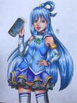 Aqua from konosuba (request)