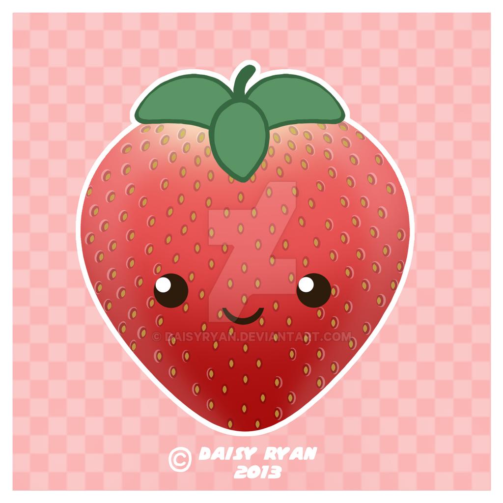 kawaii strawberry wallpaper vintage - photo #46
