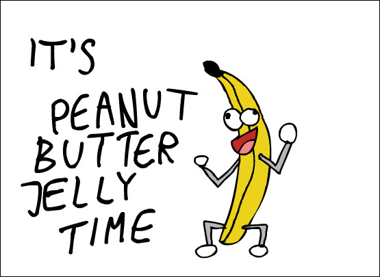 Peanut Butter Jelly Time by GrimVector