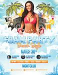 Foam Party - Beach Style - Flyer Template