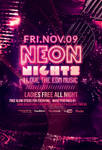 Neon Nights / Glow Party | Flyer + Facebook Cover