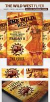 Wild West Party | Flyer + Facebook Cover by LouisTwelve-Design
