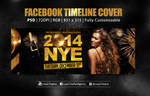 NYE New Year Eve Party | Flyer + Facebook Cover