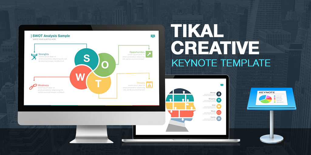 Tikal Keynote Presentation Template by LouisTwelve-Design