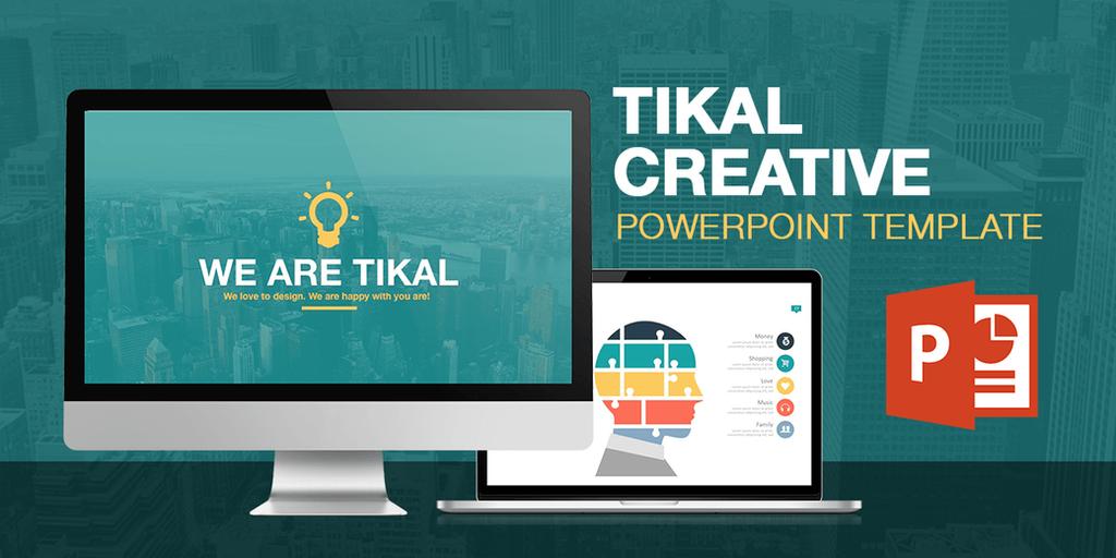 Tikal - Powerpoint Presentation Template by LouisTwelve-Design