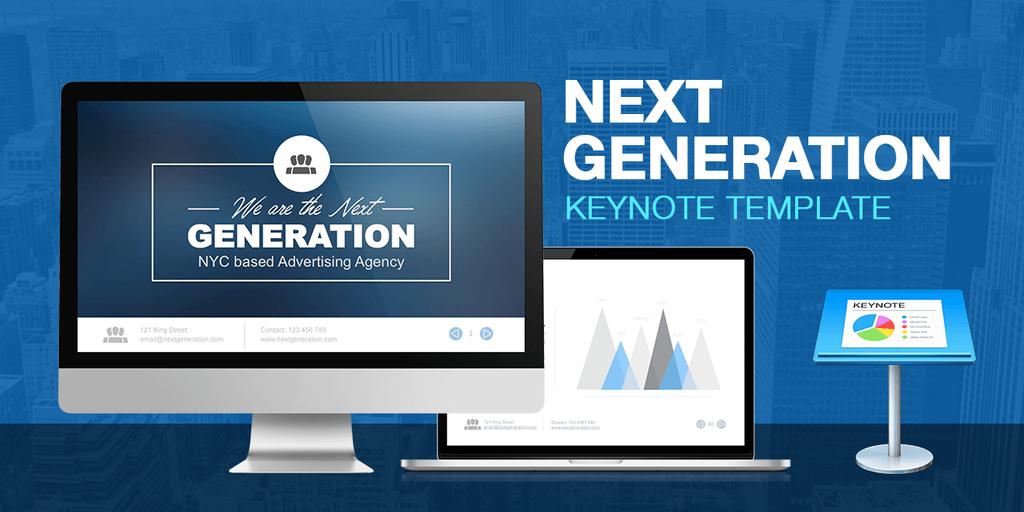 NextGeneration - TwitterStream - Keynote - Tiny by LouisTwelve-Design
