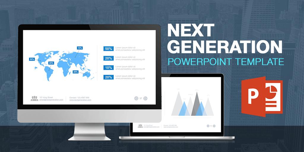 Next Generation Powerpoint Presentation Template by LouisTwelve-Design