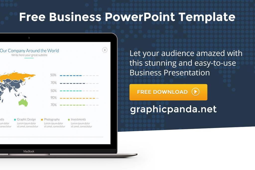 Free business powerpoint presentation template by louistwelve design toneelgroepblik Choice Image