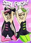 Squid Sisters // SPLATOON~!