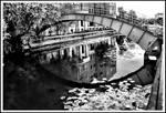 Bridge over River Foss...