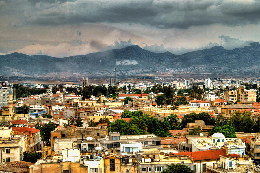 Nicosia and The  Pentadaktylos Mountains... by TheBaldingOne