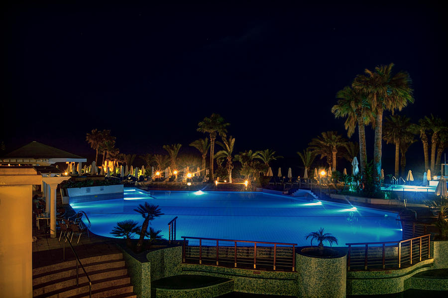 The Pool at Night I... by TheBaldingOne