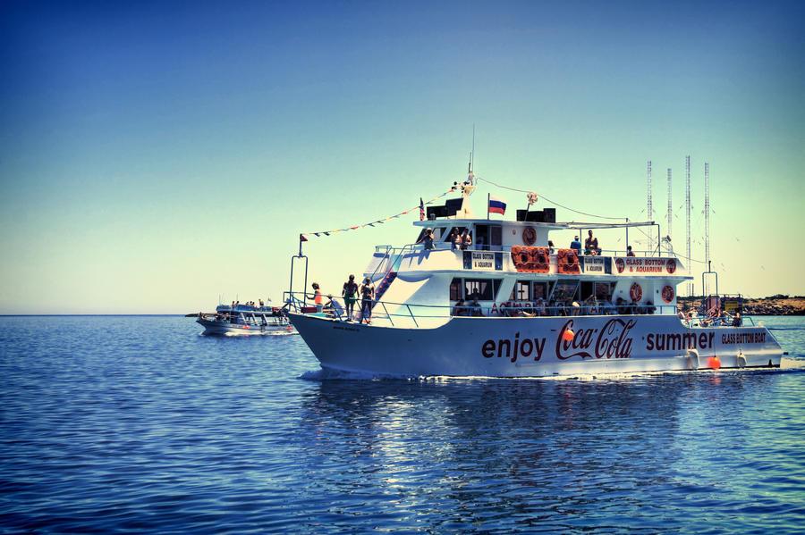 The Coca-Cola Boat... by TheBaldingOne
