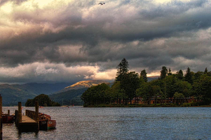 A break in the clouds... by TheBaldingOne