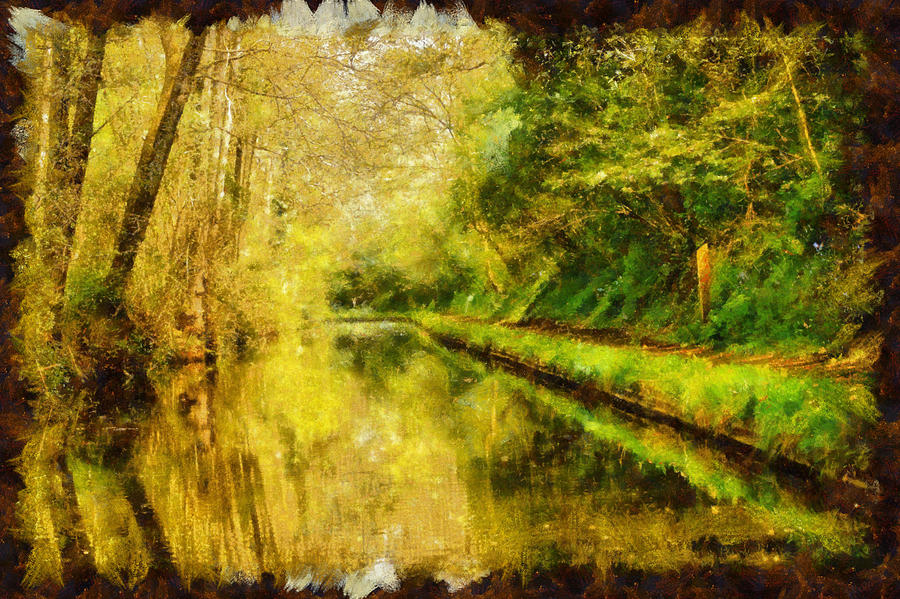 Canal and Towpath - Paintography... by TheBaldingOne