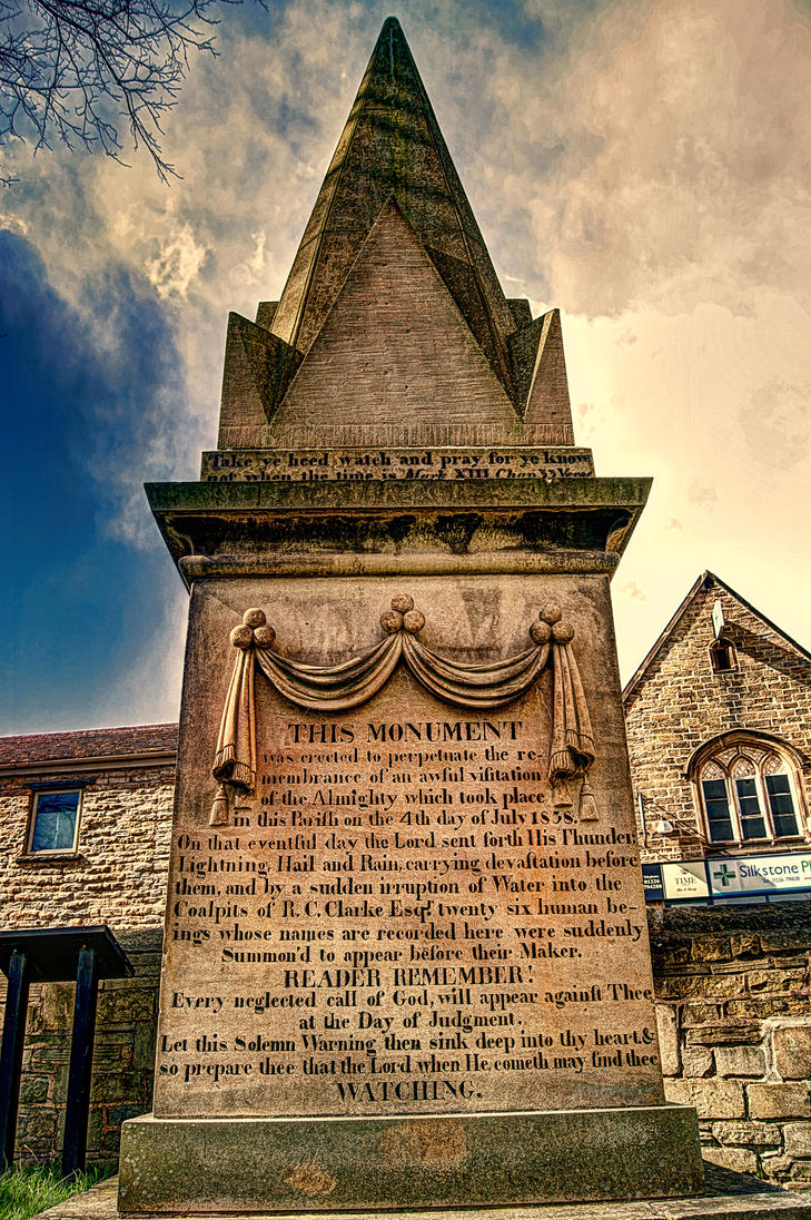 Huskar Colliery Disaster Monument... by TheBaldingOne