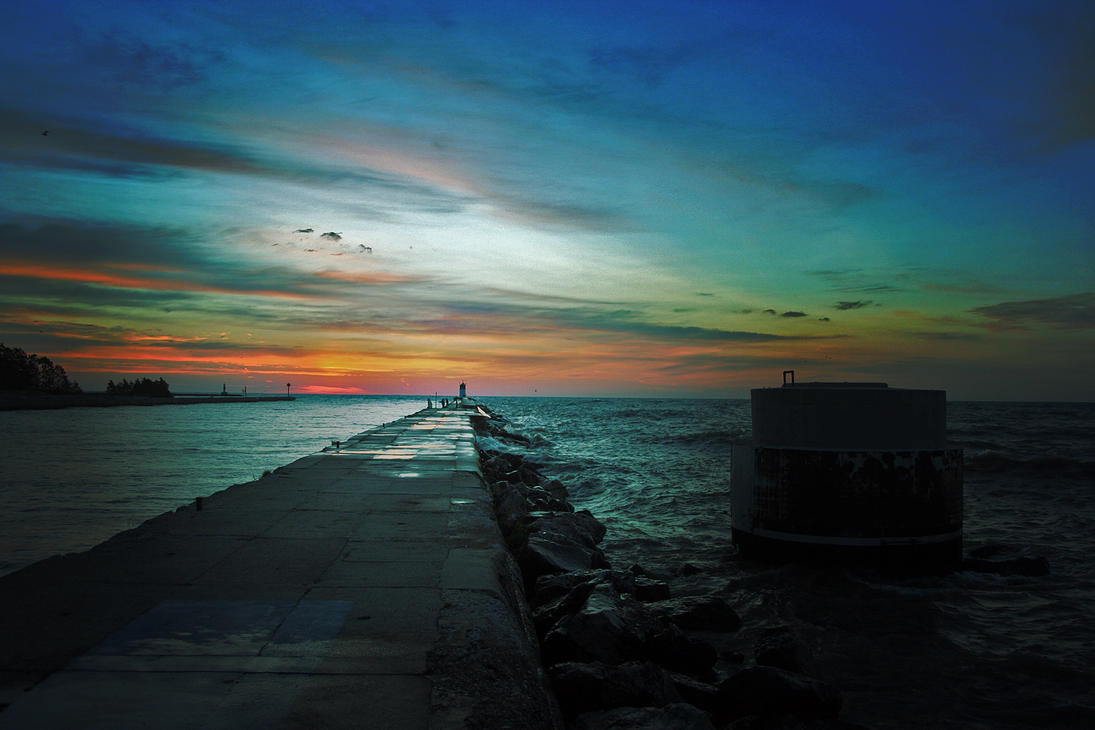 Lake Michigan Dawn 1 by MDV1