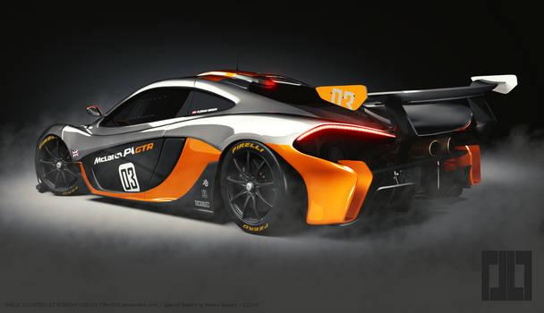 Mclaren P1 GTR (Blender 3D)
