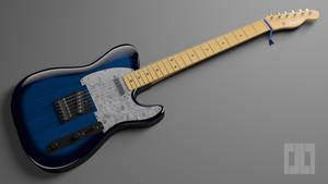Fender Telecaster (Blender 3D)