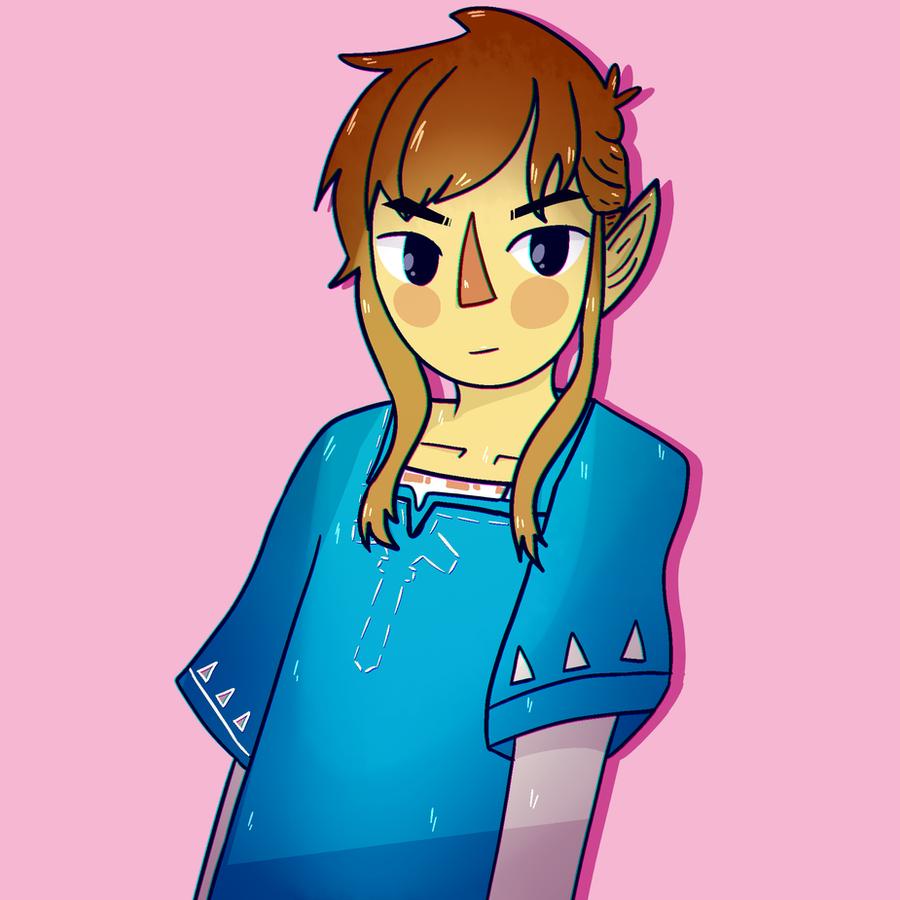 Link! by awokenbyacloud