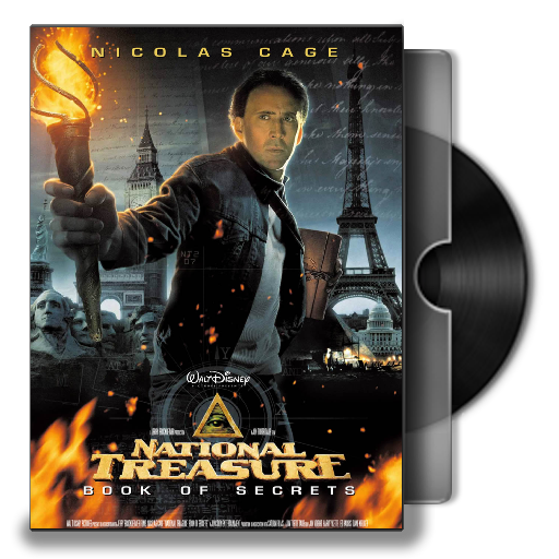national treasure book of secrets movie poster