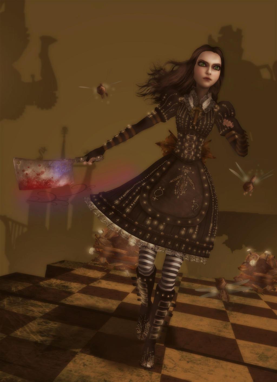 Alice madness returns платье 3