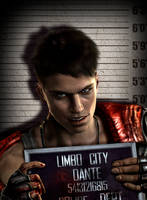 Limbo City Mugshot Dante by AnnaPostal666