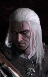 Geralt / W.I.P by AnnaPostal666