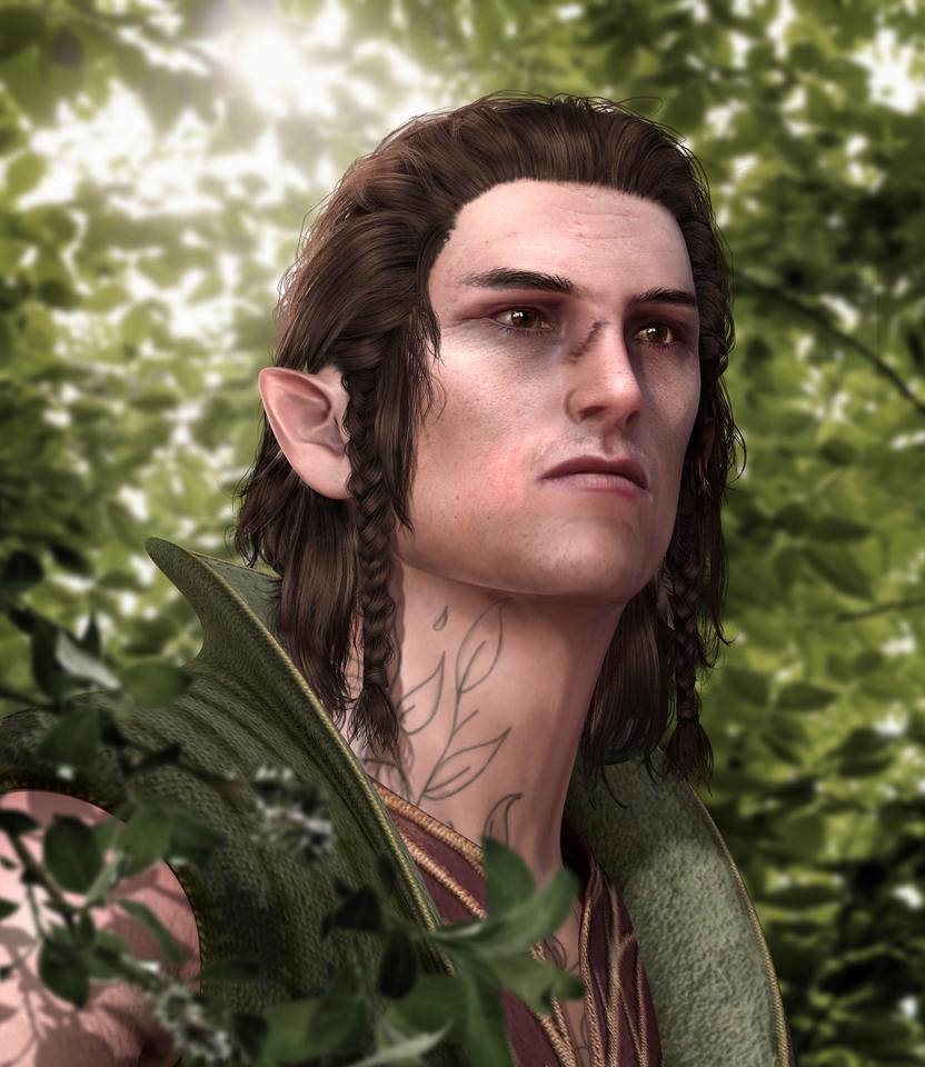 Scoia'tael Series/Cedric by AnnaPostal666