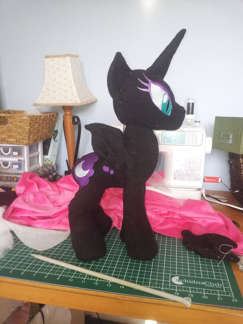 lrg Nightmare moon by SwiftStitchCreations