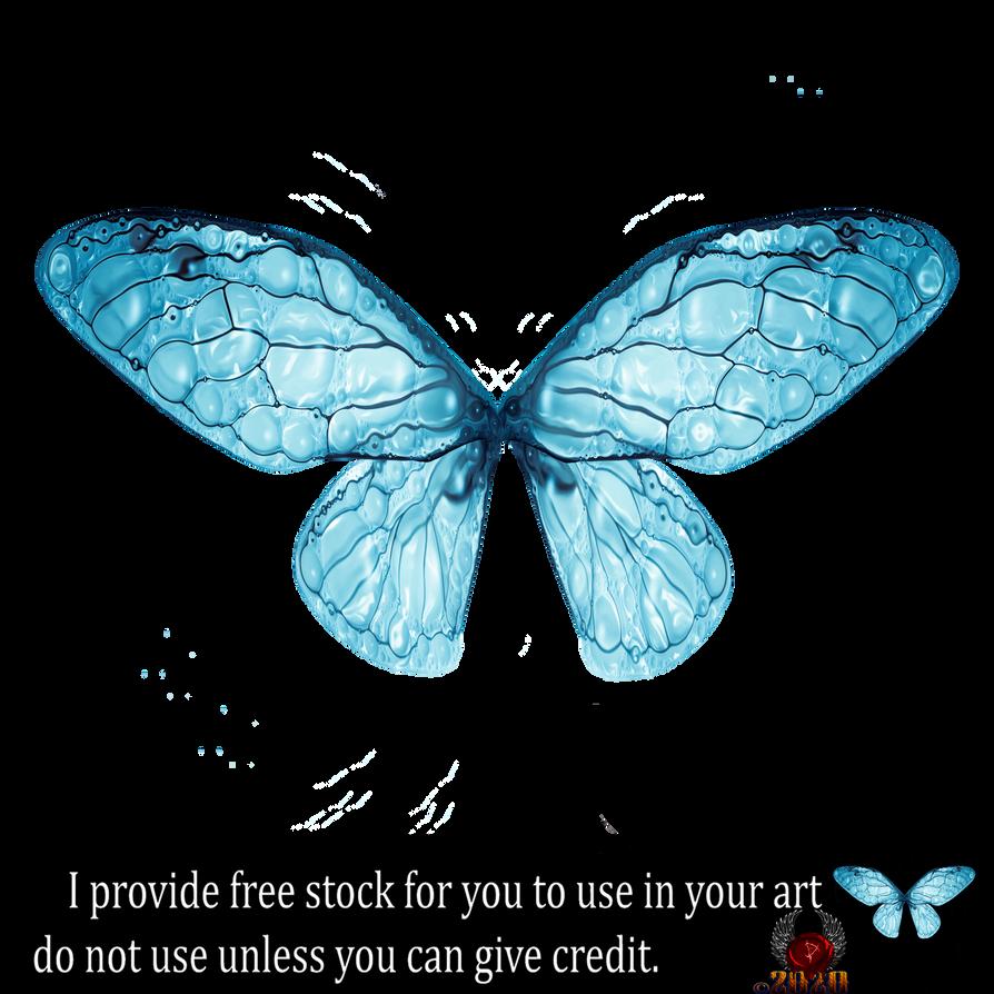 Ice Blu Fairy Wings