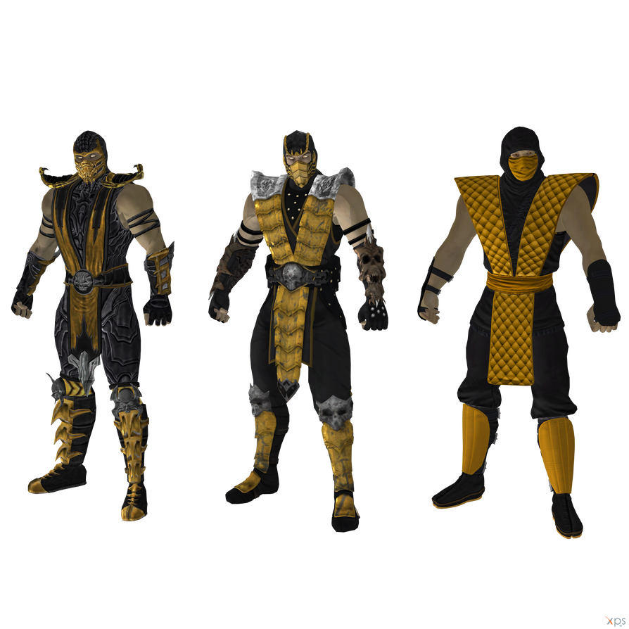 Mortal Kombat 9: Scorpion (Retexture). by OGLoc069 on ...