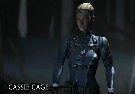 Mortal Kombat X- Cassie Cage by OGLoc069