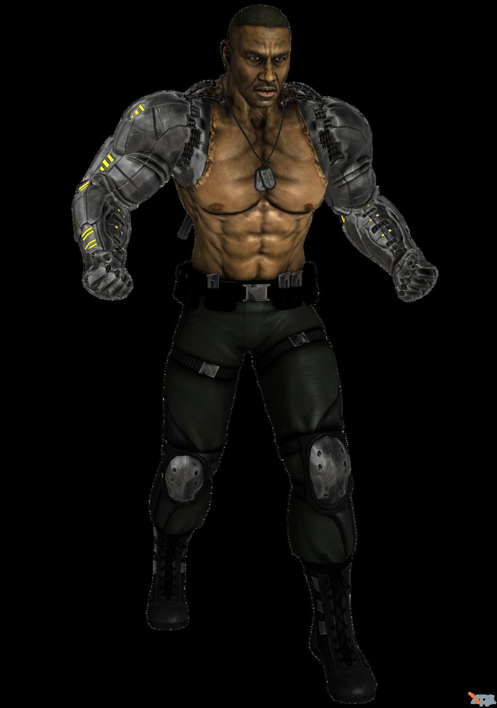 Mortal Kombat 9 Jax Briggs Custom By OGLoc069 On