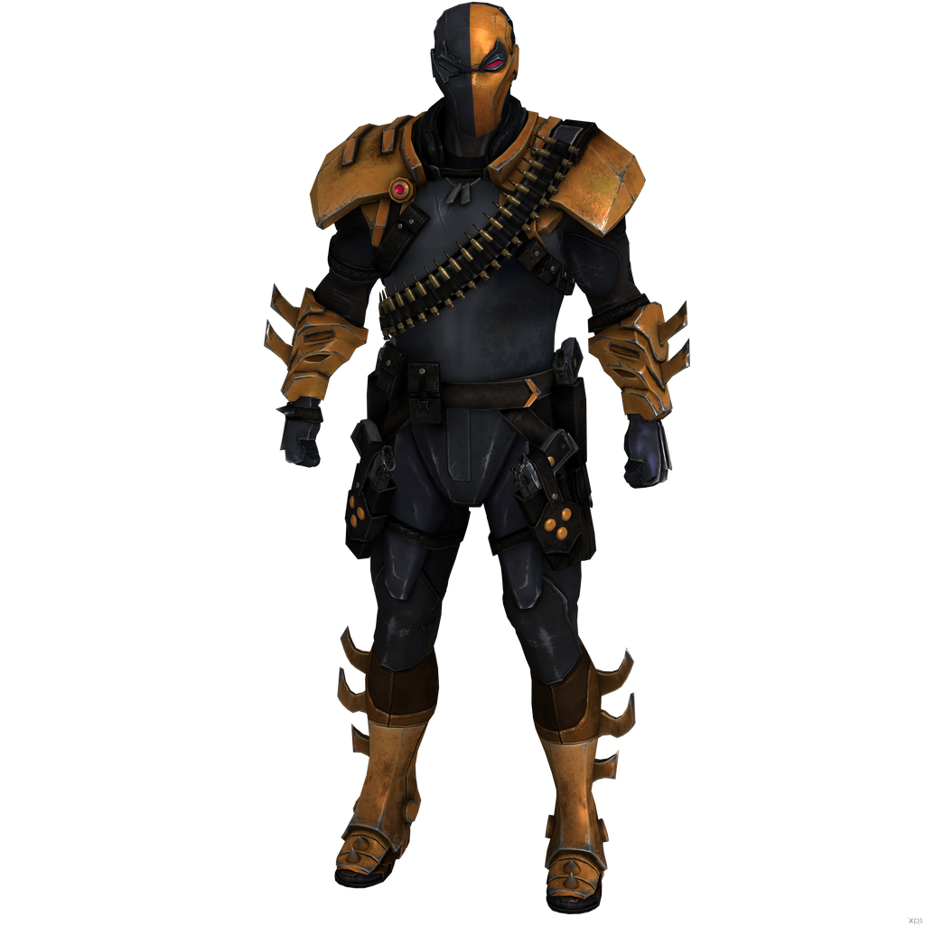 Batman Arkham Origins: Deathstroke- Injustice. by OGLoc069 ...