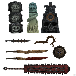 Mortal Kombat X: Kotal Kahn's Weapons