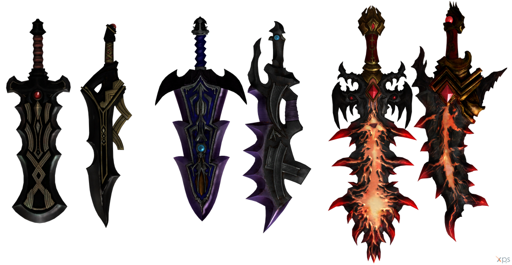 Hyrule Warriors Ganondorf S Great Swords By Ogloc069 On