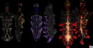 Hyrule Warriors: Ganondorf's Great Swords. by OGLoc069