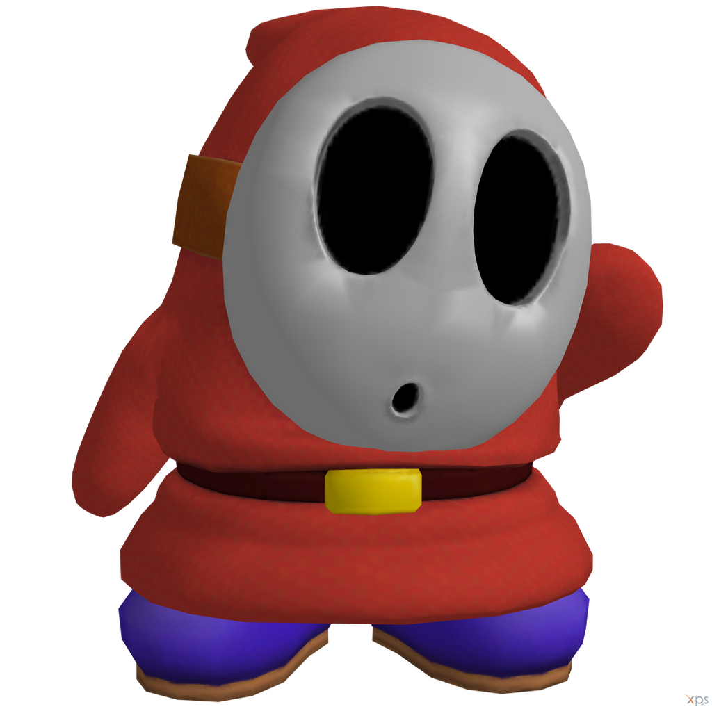 A Shy Guy Coloring Pages