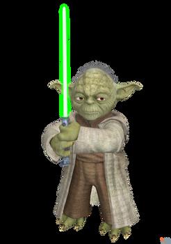 Star Wars- Kinect: Master Yoda.