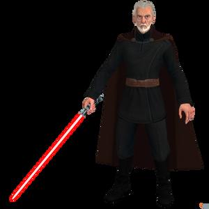 Star Wars- Kinect: Count Dooku.