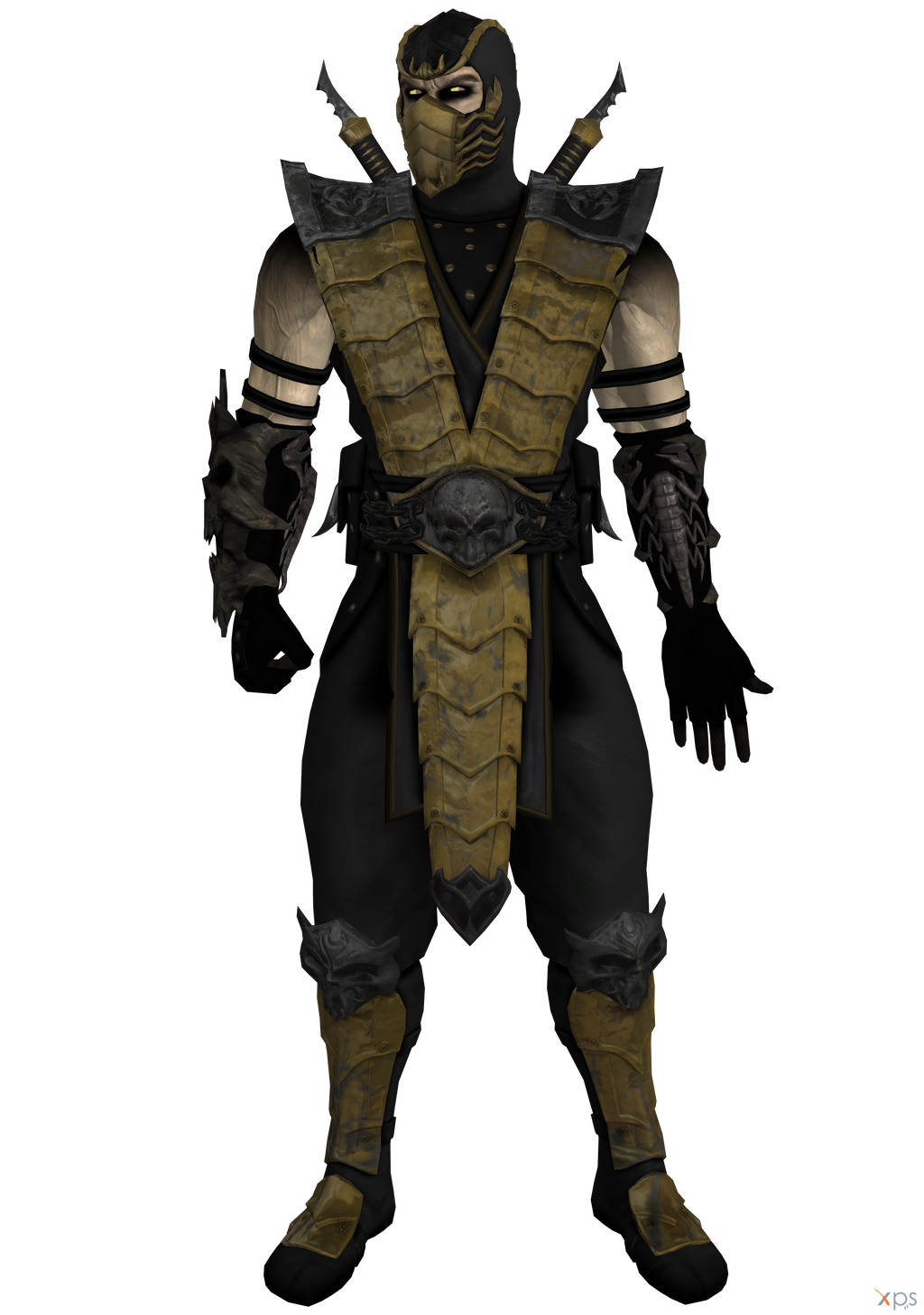 Scorpion- Alternate Costume. (Fixed) by OGLoc069 on DeviantArt