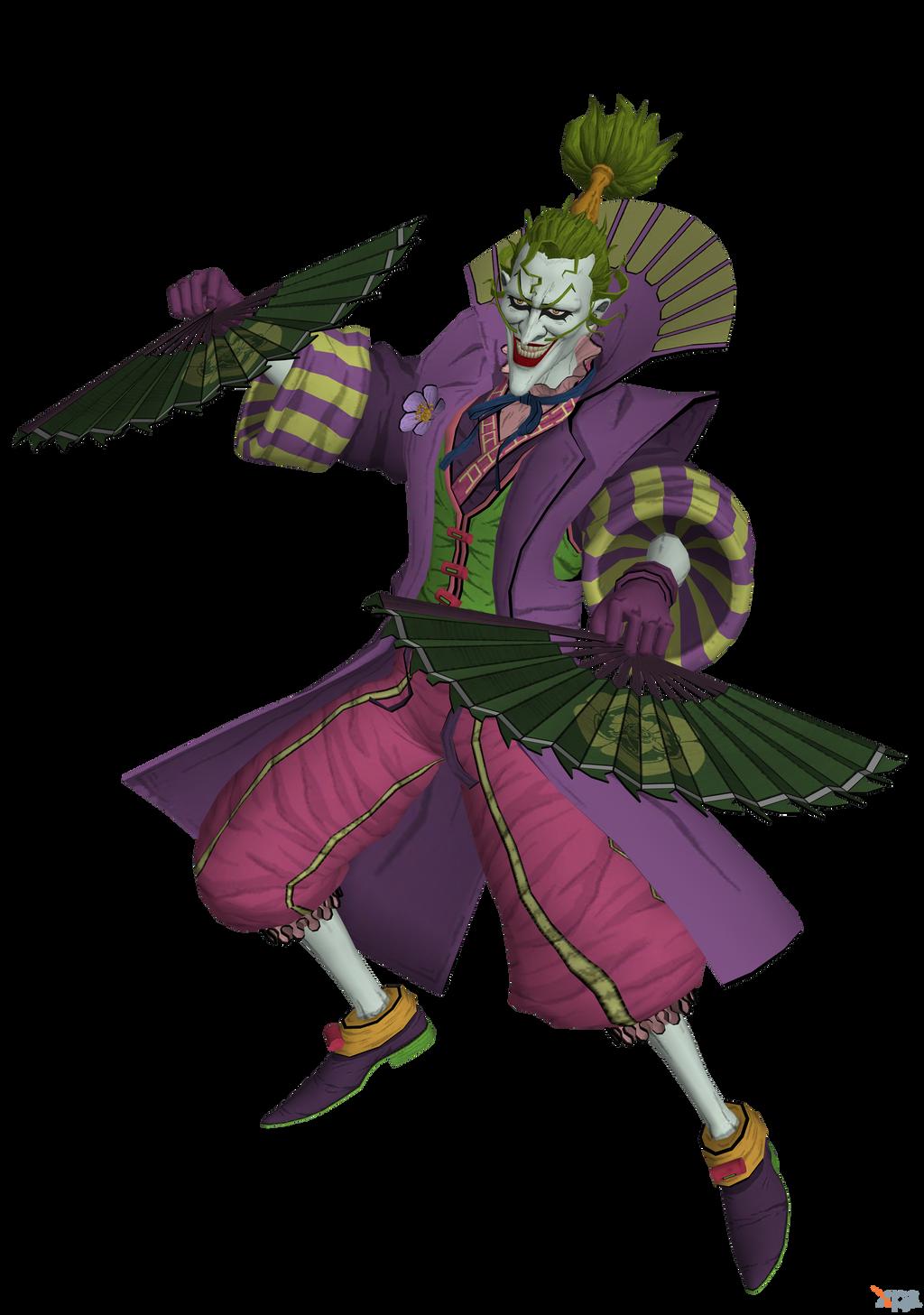 Injustice 2 Ios Batman Ninja The Joker By Kabalstein On Deviantart