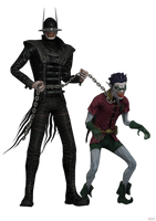 Injustice- Mobile: Metal The Batman Who Laughs. by OGLoc069