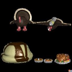 Injustice 2: Thanksgiving Items.