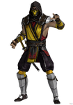 Mortal Kombat (IOS): MK11 Scorpion.