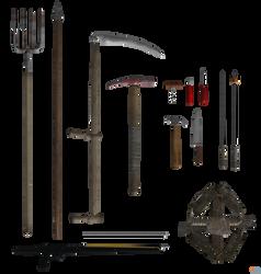 Jason's Weapons.